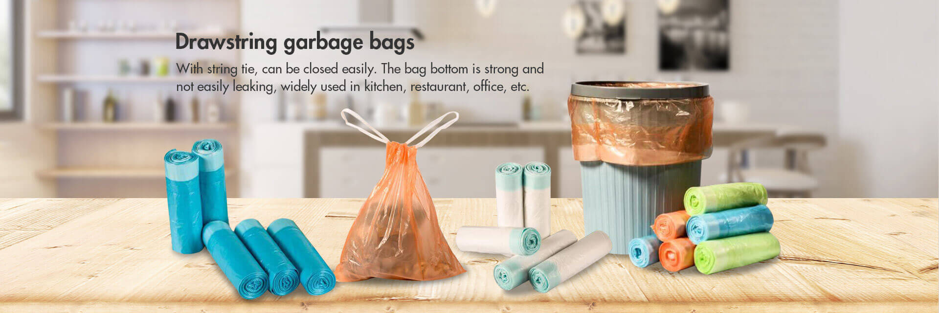Drawstring Garbage Bag