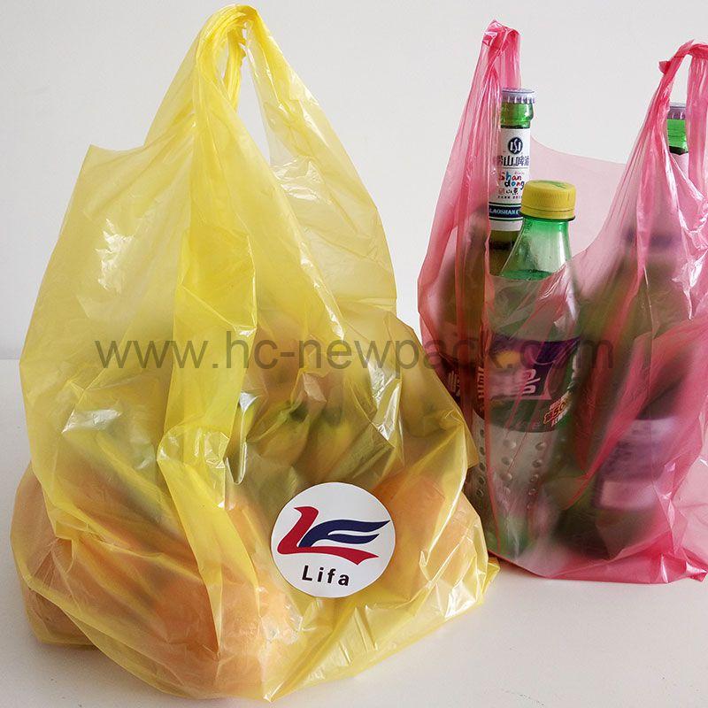 T-shirt Bag Shopping Bag Vest Bag