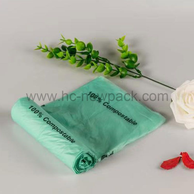 100% Biodegradable Compostable Bag