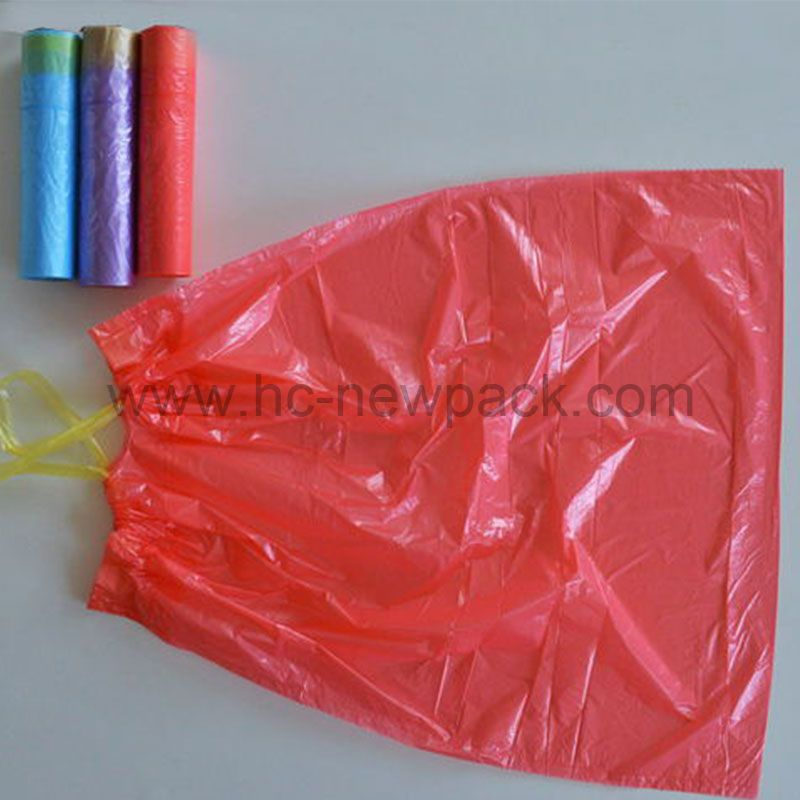 Draw-tape Garbage Bags
