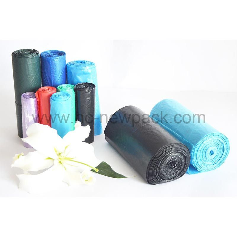 Hdpe/Ldpe Star-sealed Garbage Bag