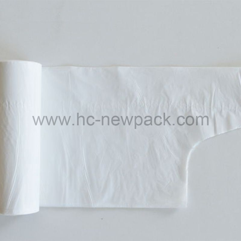 HDPE Wave Top Bag /garbage bag