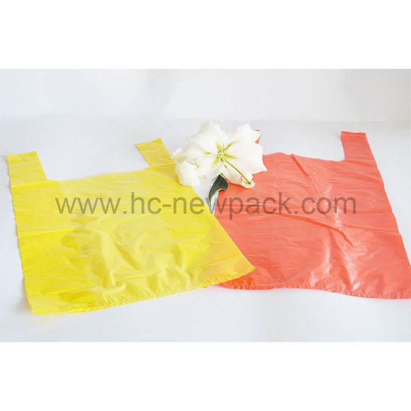 Hdpe /Ldpe T-shirt Bag