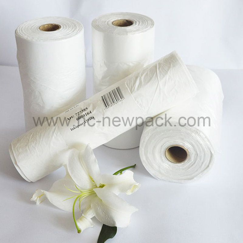 Hdpe / Ldpe Flat-Bags on roll, vegetables , Fruit bags with Gusset